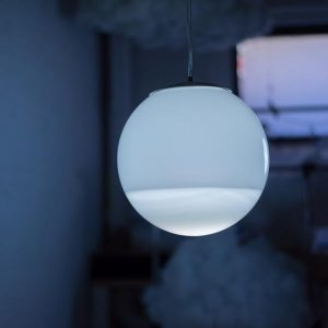A harmonious contradiction: The Rain Lamp by Richard Clarkson Studio