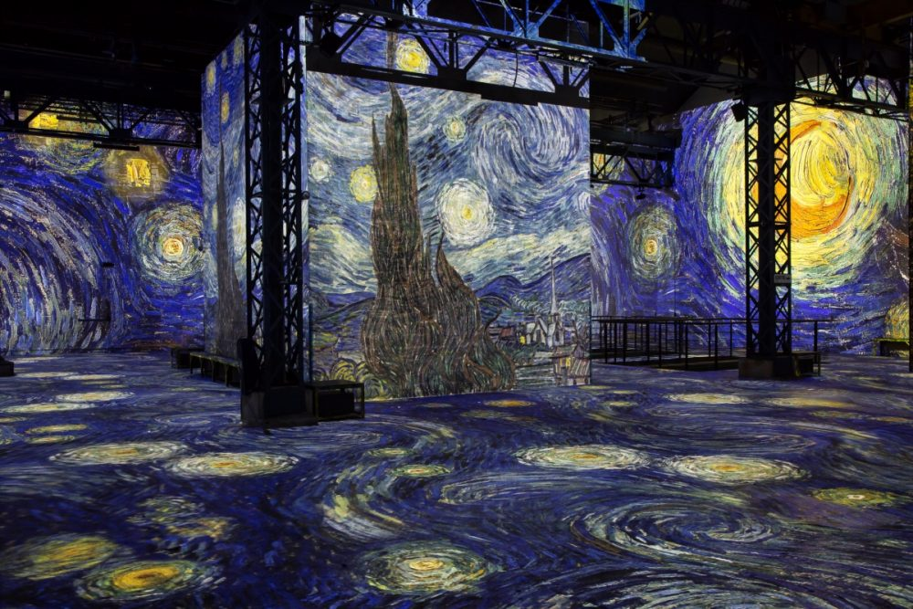 Paris Museum Creates Immersive Digital Van Gogh Installation