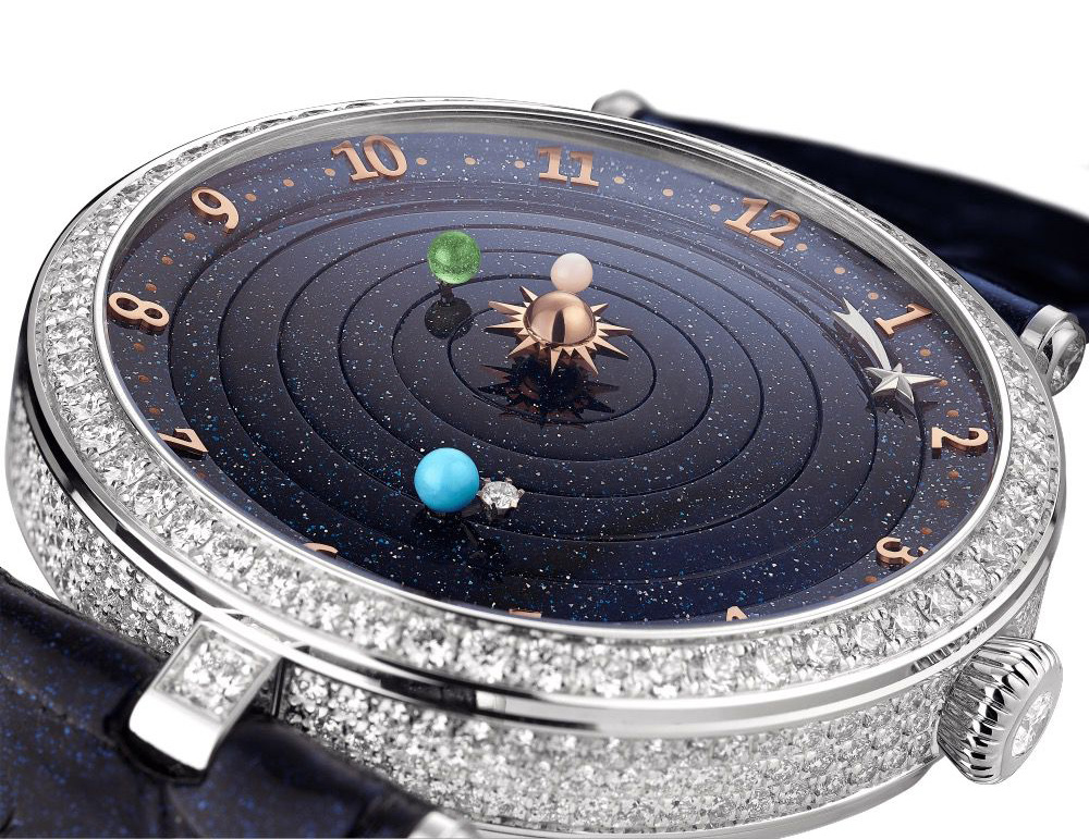 Lady Arpels Planétarium watch by Van Cleef & Arpels