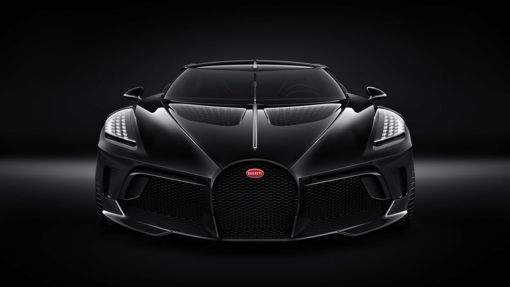 "Bugatti ""la Voiture Noire"" — A One-off Car For The Anniversary"