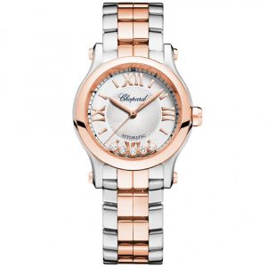 The 'Happy Sport' watch by Chopard returns with its original pebble bracelet