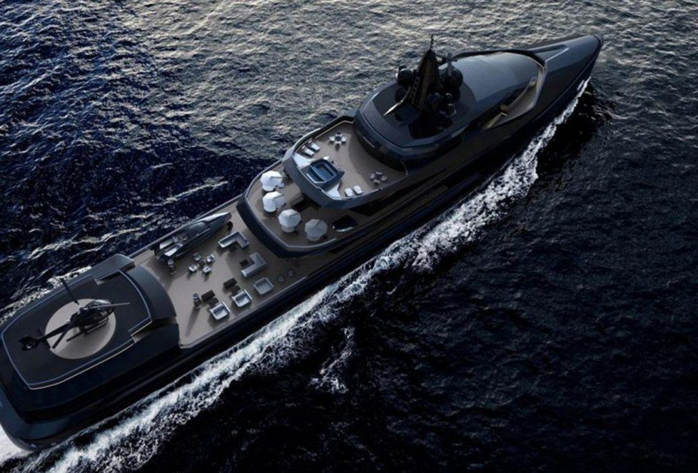 Oceanco Unveils Esquel – A 105-meter Expedition Yacht