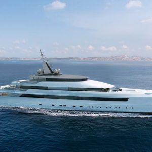 The Stunning 81m Vitruvius By Turquoise Yachts
