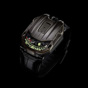 URWERK's UR-105 CT Maverick, a watch with a strong character