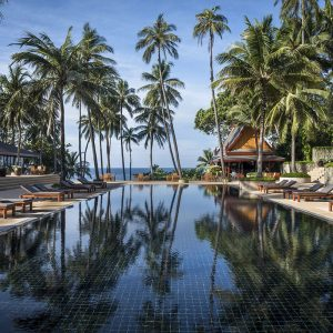 Discover Amanpuri, a peaceful luxury beach resort in Thailand