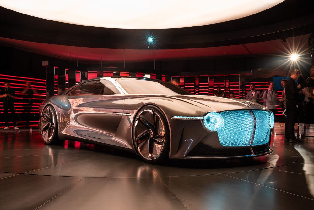 Future Re-imagined: The Extraordinary Bentley EXP 100 GT