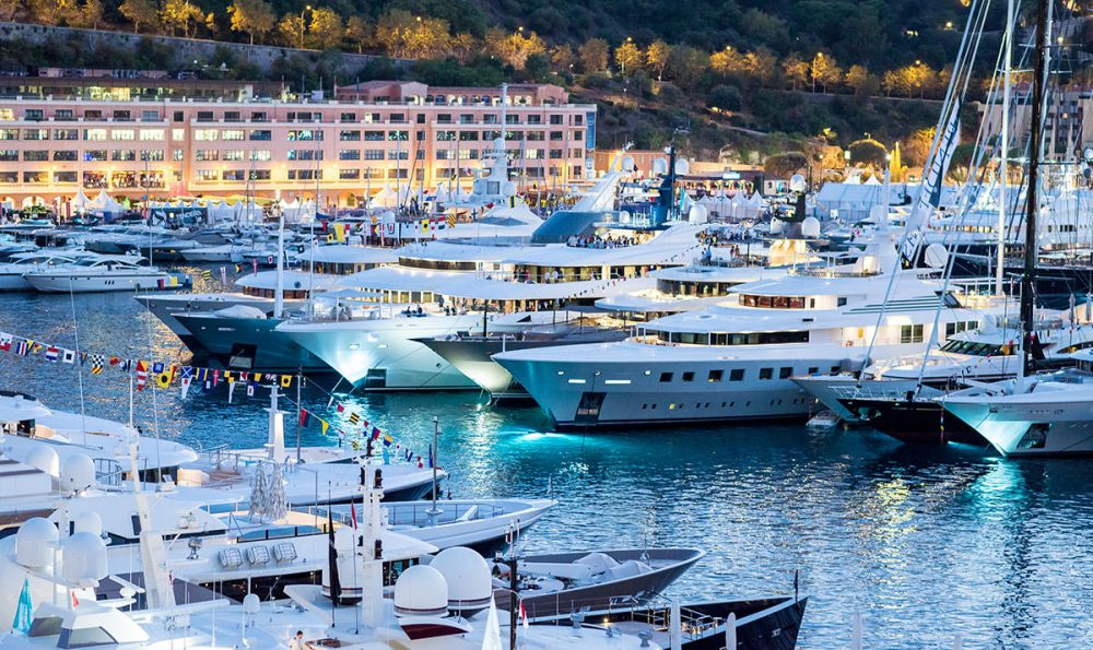 Monaco Yacht Show, 25 – 28 September 2019, Port Hercules