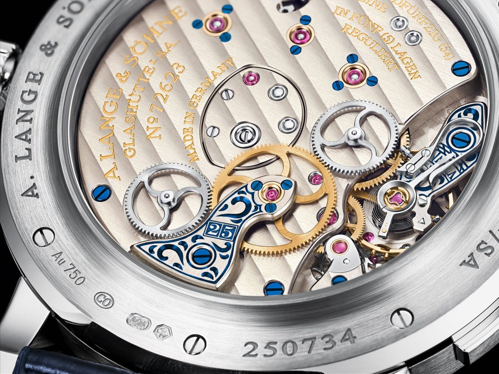 "The newest novelty by A. Lange & Söhne, LANGE 1 ""25th Anniversary"""