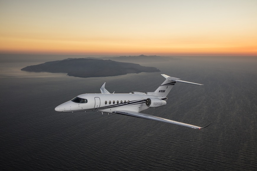 Citation Longitude, the new flagship jet by Textron Aviation