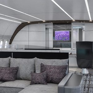 Greenpoint Designs V-VIP Interior Concept for Boeing Business Jet 777X