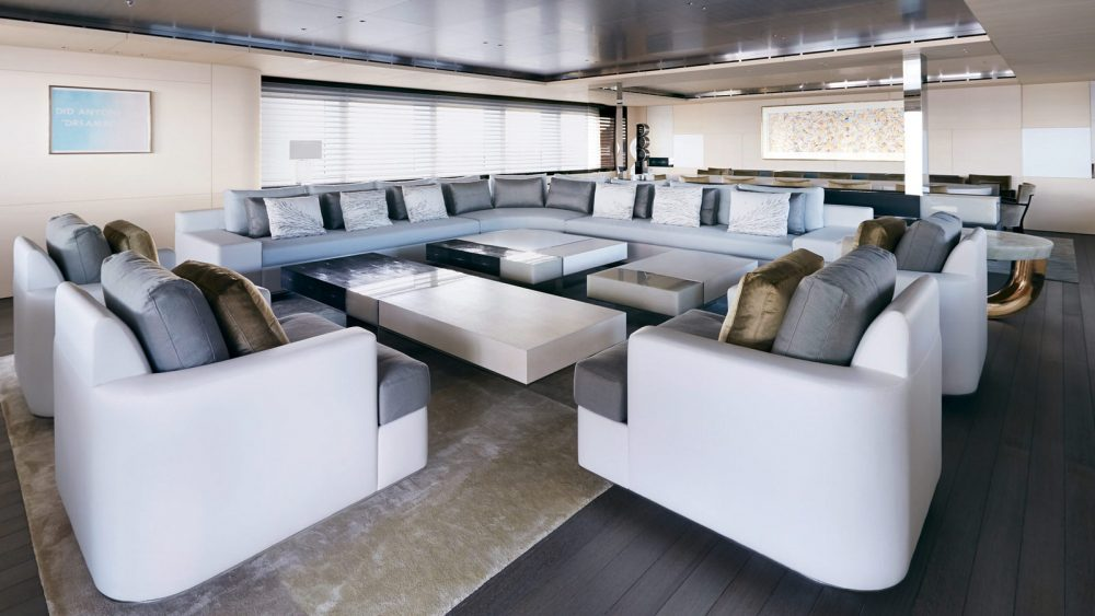 Perini Navi's Nautilus pushes custom design, construction quality and efficient performance to new heights