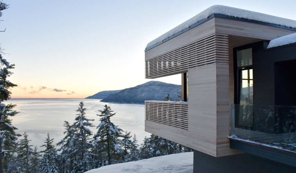 Residence Le Nid: Overlooking the St. Lawrence River, Baie-Saint-Paul, Canada