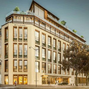 The new Bvlgari Hotel is set to open in Paris in 2020