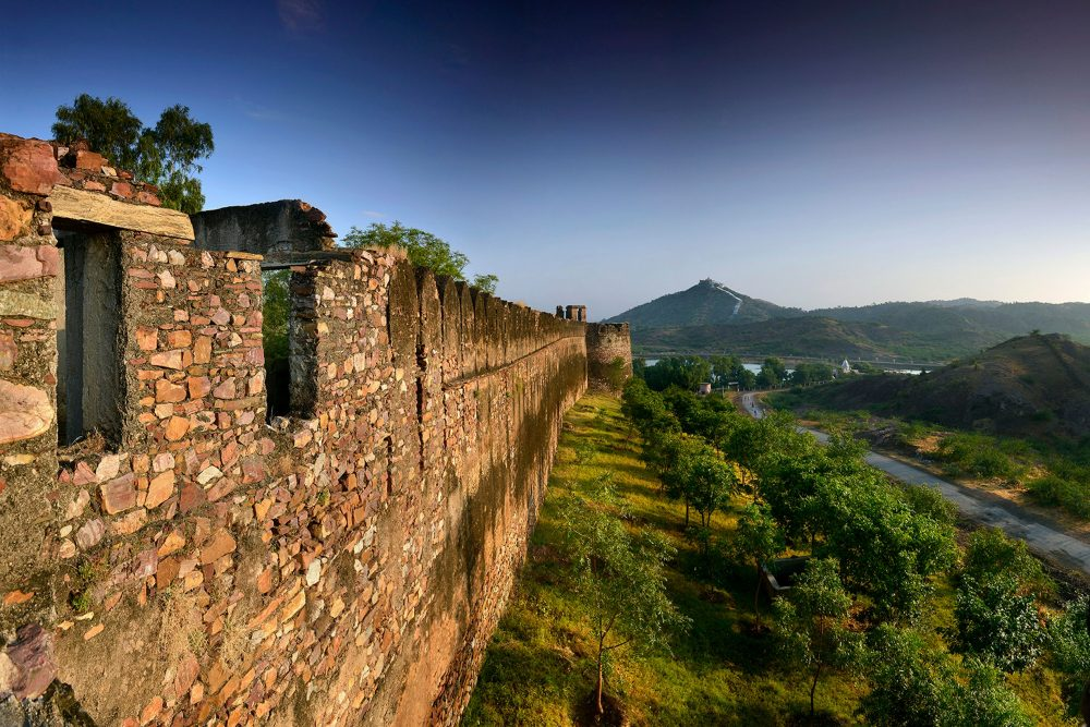 A historical monument: Six Senses, Fort Barwara, Rajasthan, India