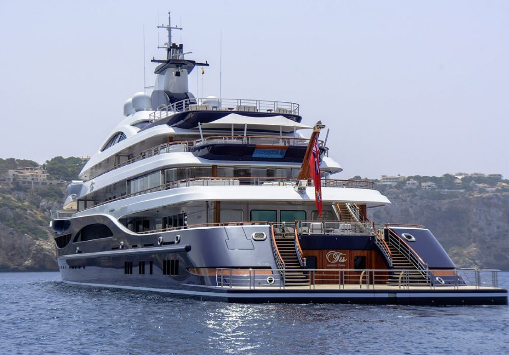 TIS Megayacht by Lürssen Yachts and Winch Design