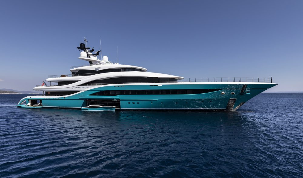 Turquoise Yachts GO, designed by H2 Yacht Design
