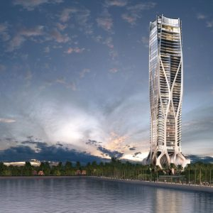 Scorpion Tower Miami, One Thousand Museum by Zaha Hadid Architects