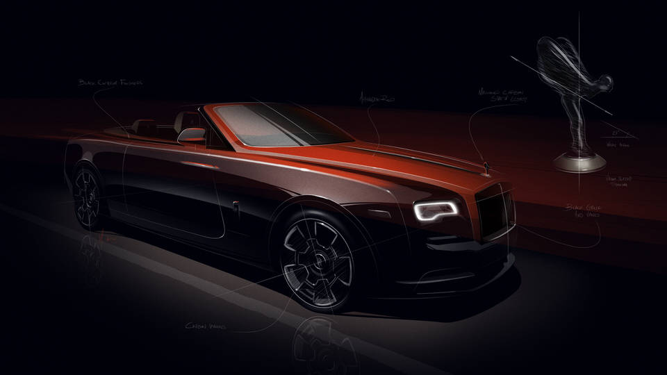 Adamas: The first Black Badge Collection of 40 Wraiths and 30 Dawns by Rolls-Royce