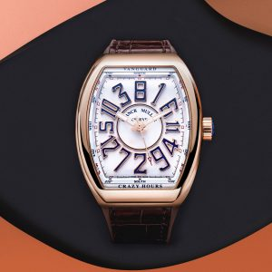 Franck Muller's Vanguard Crazy Hours, Limited Edition