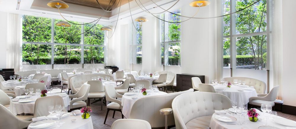 Jean-Georges Restaurant, New York, a sophisticated New French eatery