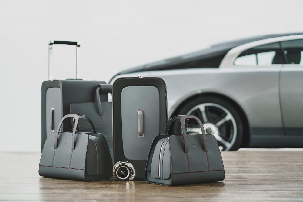 The ultimate travel companion, Rolls-Royce Wraith Luggage