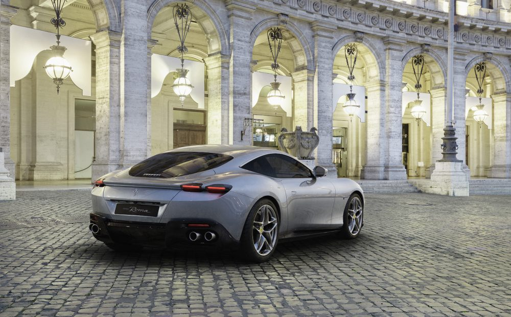 "Timeless Elegance with the new Ferrari Roma: ""la Nuova Dolce Vita"""