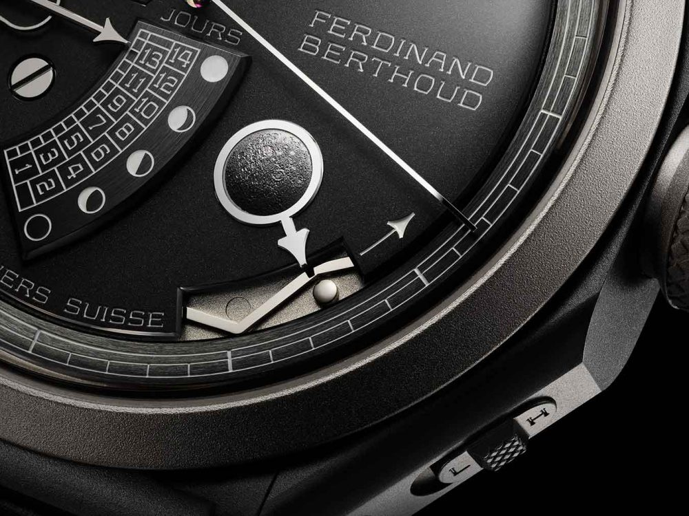 An intriguing blend of astronomy and chronometry: Ferdinand Berthoud FB1L Far Side of the Moon