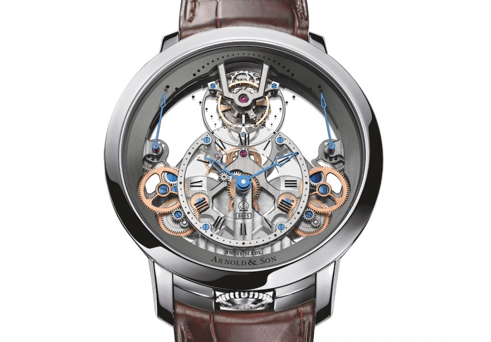 Arnold & Son: the Original Time Pyramid Wristwatch
