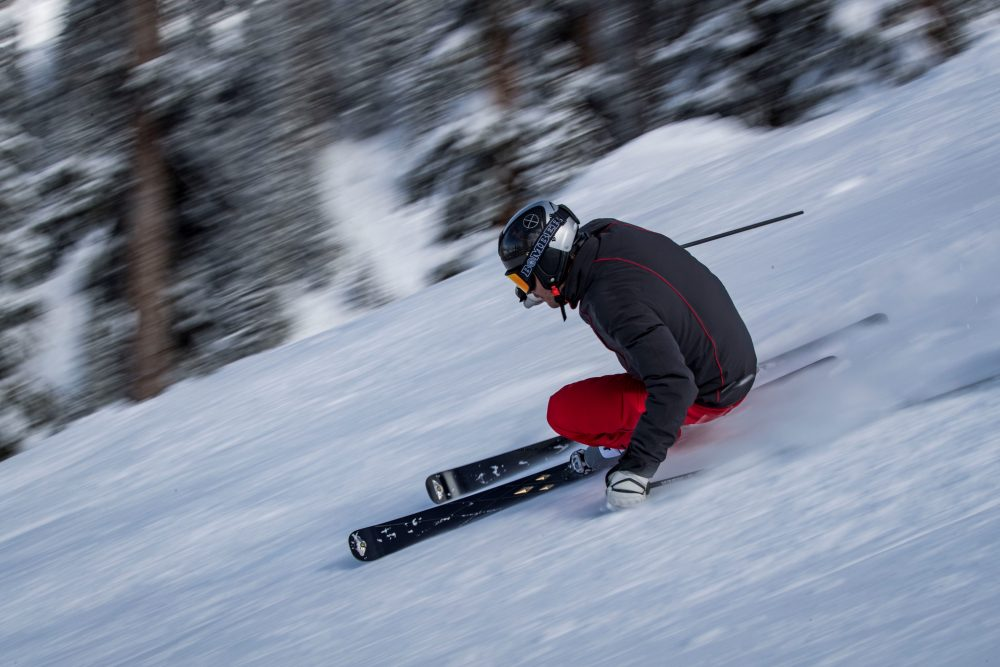 300 pairs of limited edition Bomber skis exclusively hand-made for Bentley
