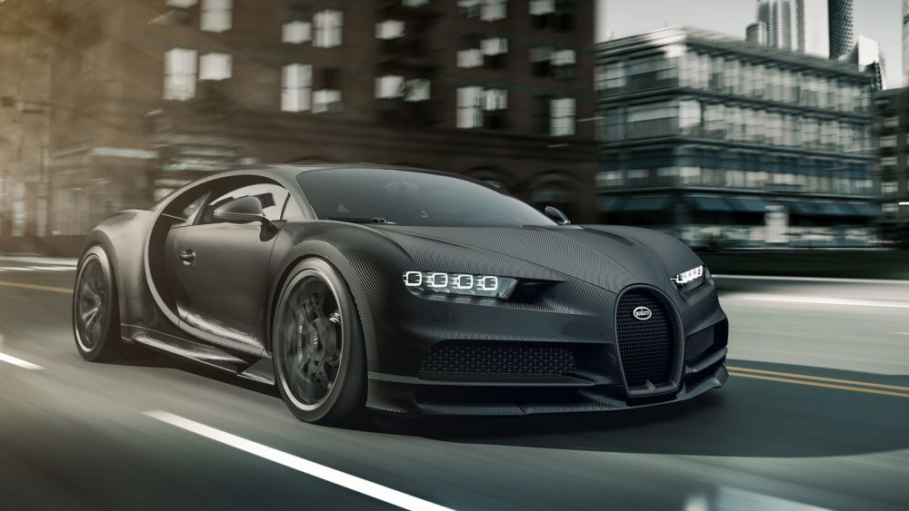 "Bugatti Edition ""Chiron Noire"" inspired by the most beautiful car in the world"
