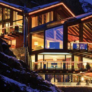 Chalet Zermatt Peak: Zermatt's premier chalet with views over Zermatt and to the iconic Matterhorn