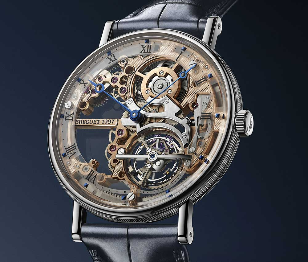 The Classique Tourbillon Extra-Plat Squelette 5395 by Breguet
