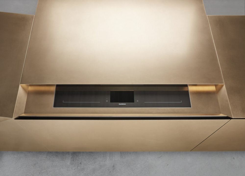 FOLD By Steininger, a kitchen with smart touch high-tech surface