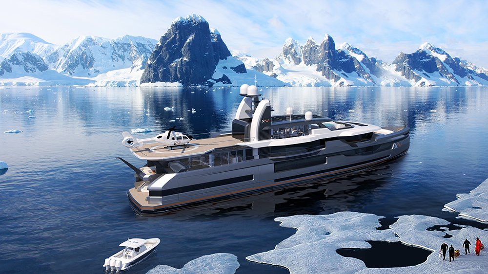 The ultimate explorer yacht concept by Heesen and Winch Design