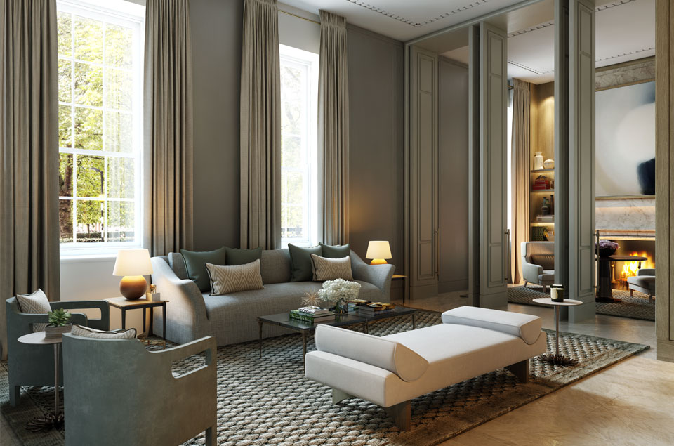 No.1 Grosvenor Square, London—the world's most desirable address