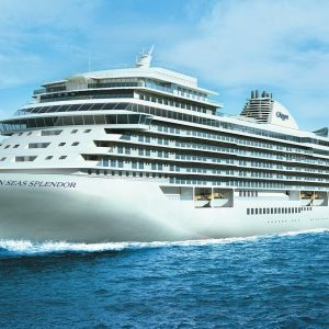 Seven Seas Splendor, the newest luxury cruise ship by Regent Seven Seas Cruises
