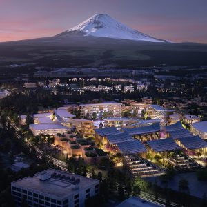 Toyota to build futuristic city at the base of Mt. Fuji in Japan