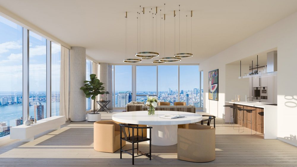 45 Park Place Tribeca, soaring with style, designed by Piero Lissoni and Michel Abboud
