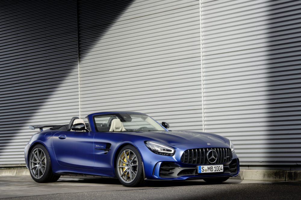 Mercedes-AMG GT R Roadster, the crown of open-top sports cars