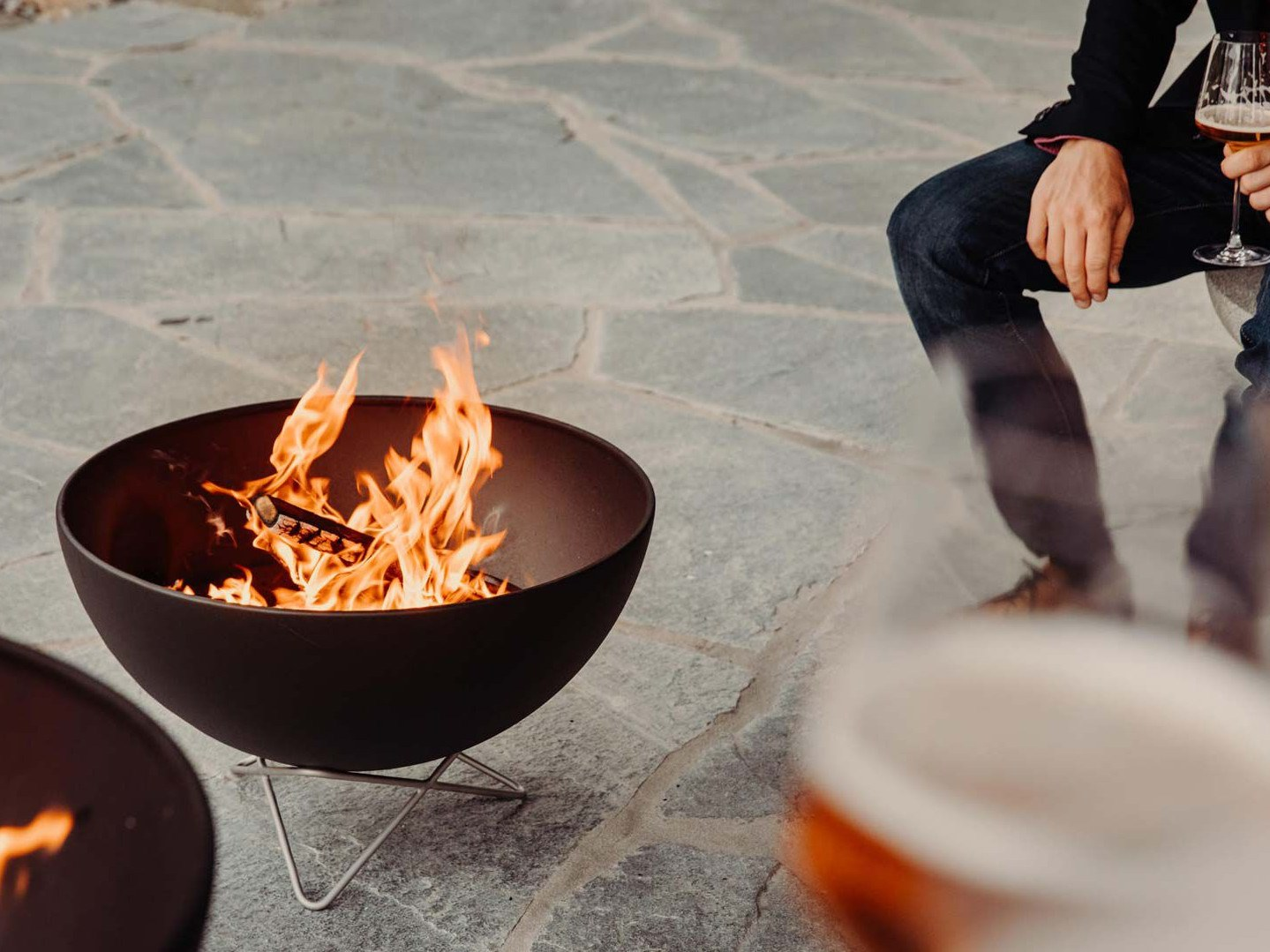 Höfats BOWL – Fire in its most accomplished form with fascinating multi-functionality