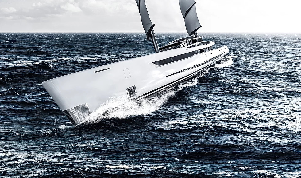 Gianmarco Cardia's Project Vela Concept Yacht