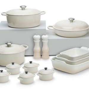 Pastel Perfection: Le Creuset's soothing new shades will create an oasis of kitchen calm