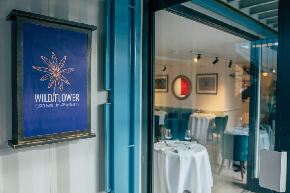 Wildflower, Adrian Martin's new sustainable fine dining experience