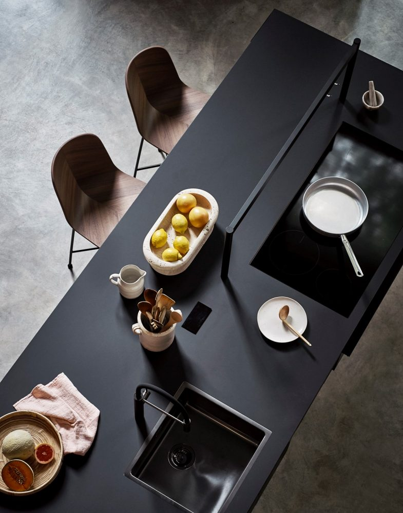 Widen your imagination with the Intarsio kitchen portrait by Cesar