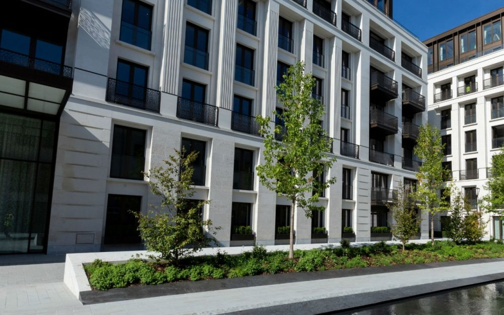 Chelsea Barracks, London's most exclusive residential enclave