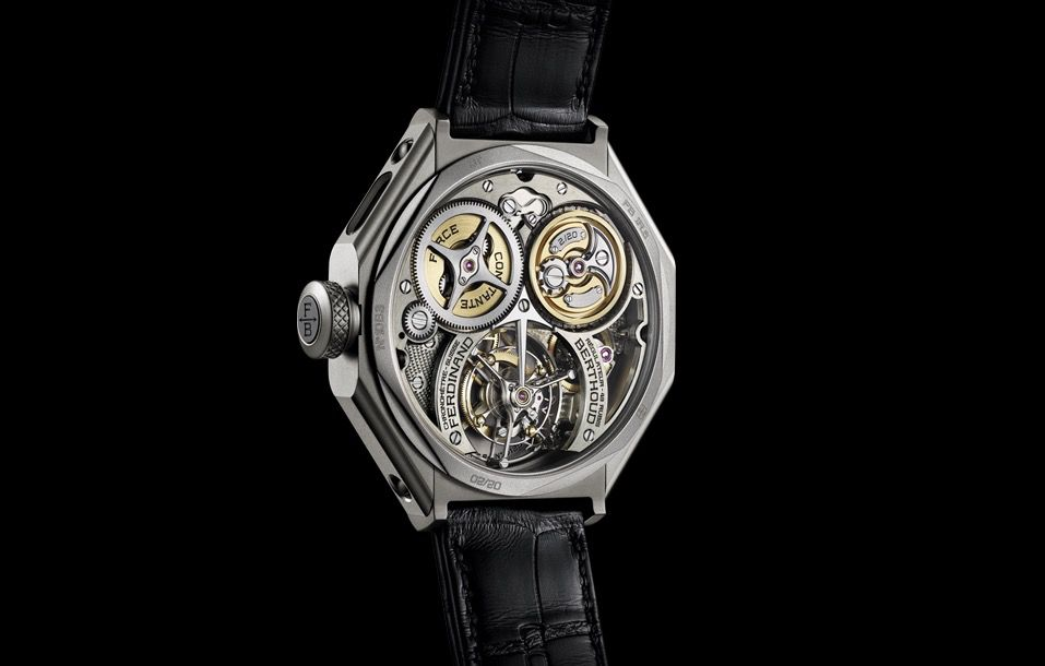 Chronomètre Ferdinand Berthoud, a regulator to stand the test of time