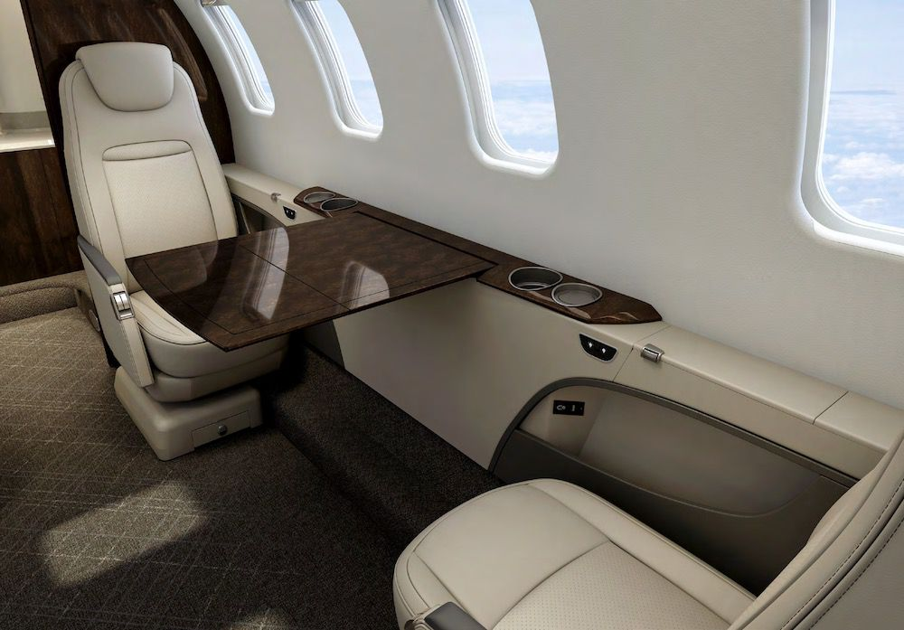 Learjet 75 Liberty, limitless freedom with space to work and relax