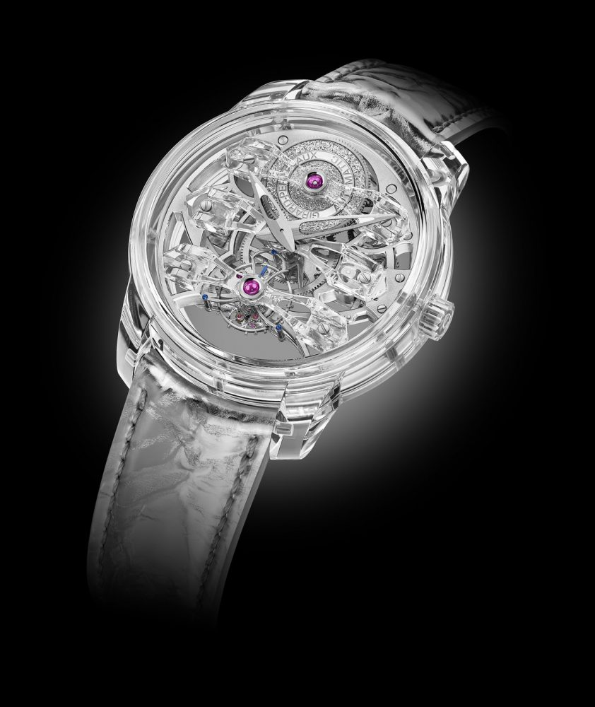 The Quasar Light by Girard-Perregaux, transparency to the extreme