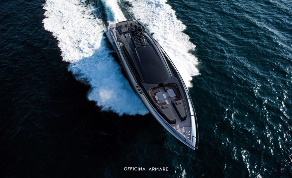 Officina Armare A88 GranSport: sleek, modern and sportive design with excessive power