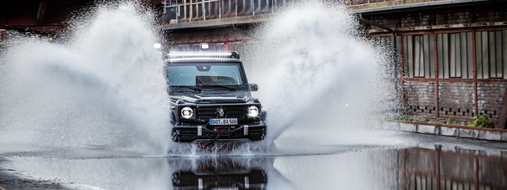 Brabus Invicto Mission, the new armoured vehicle based on the Mercedes-Benz G-Class